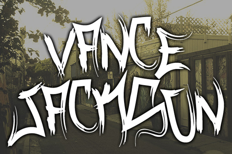 Vance Jackson Font