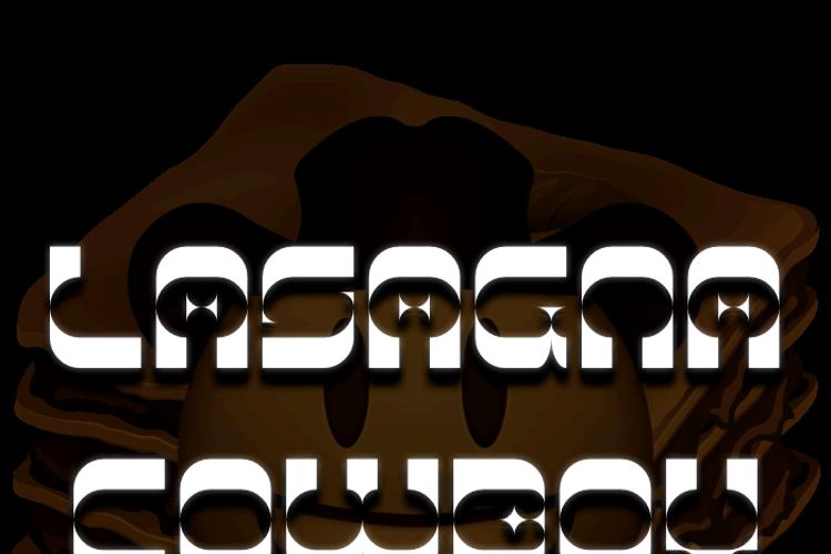Lasagna Cowboy Font