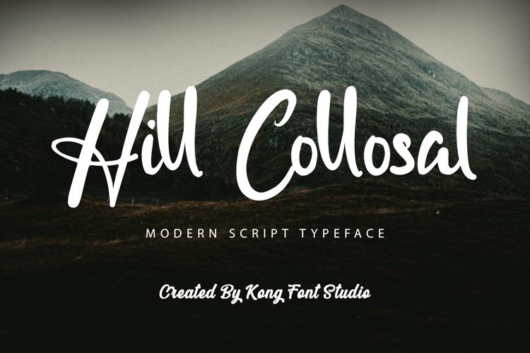 Hill Collosal Font