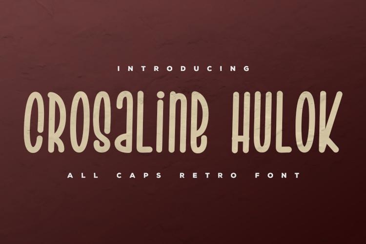 Crosaline Hulok Font