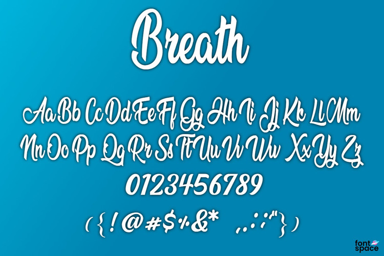 BB Breath Font