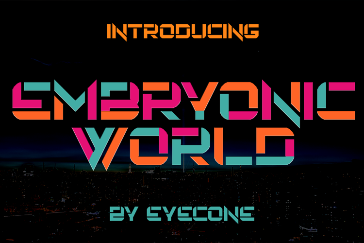 Embryonic World Font
