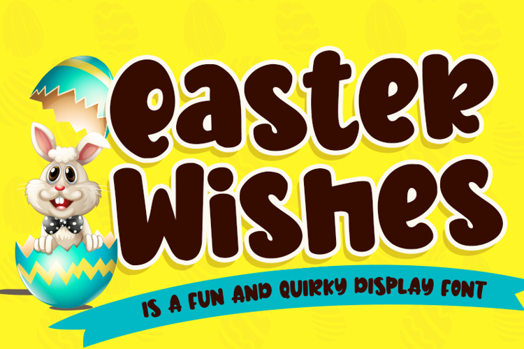Easter Wishes - Font