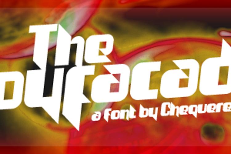 The Joy Facade Font