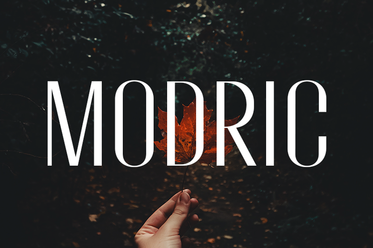 Modric Font