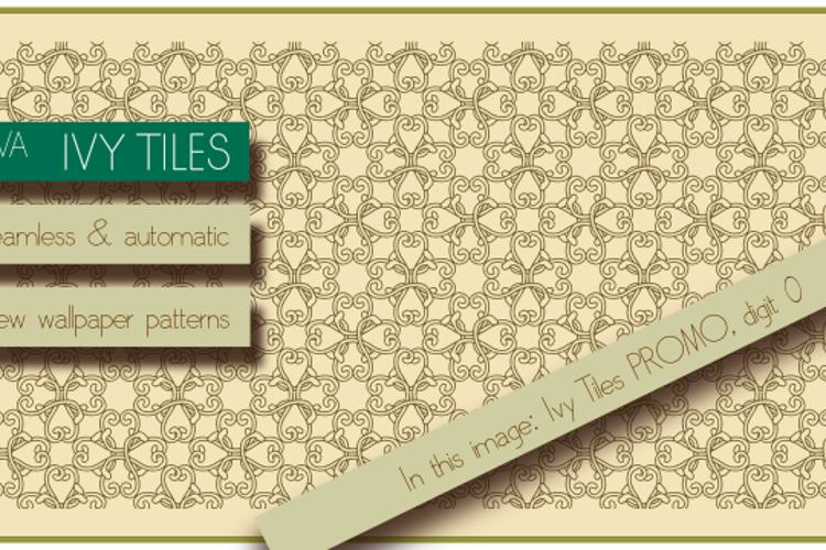 Ivy Tiles Font