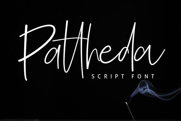 Pattheda Font