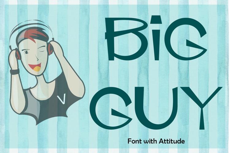 EP Big Guy Font