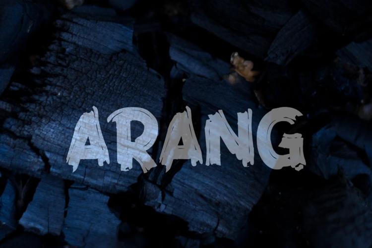 a Arang Font