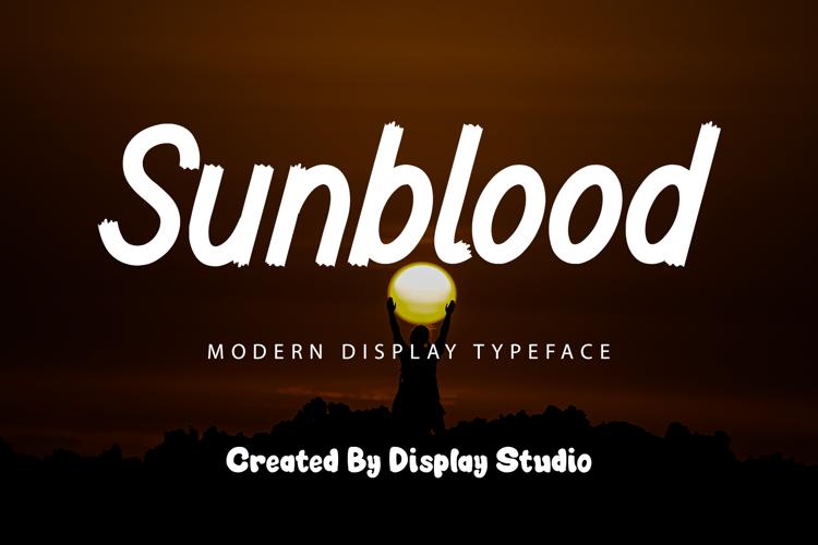 Sunblood Font