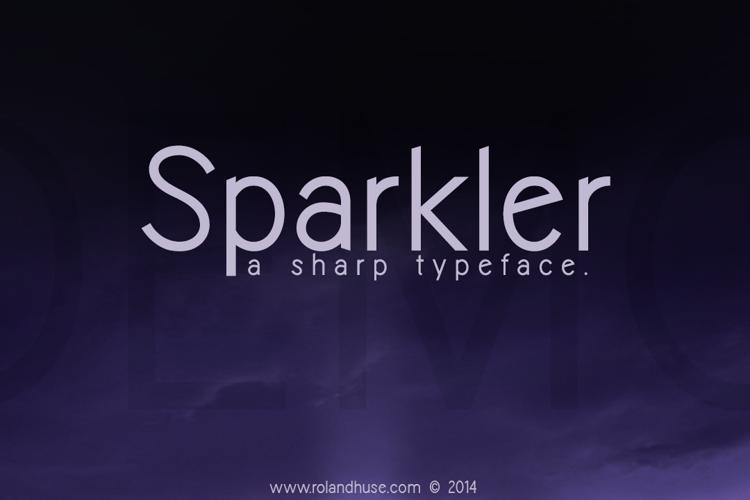 Sparkler-Demo Font
