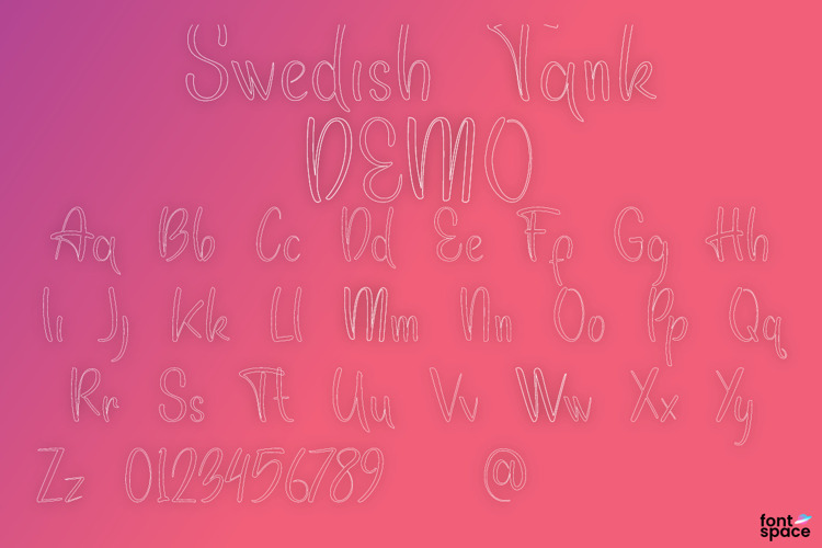 Swedish Tank Font