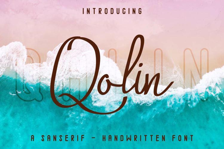 Qalin Handwritting Font