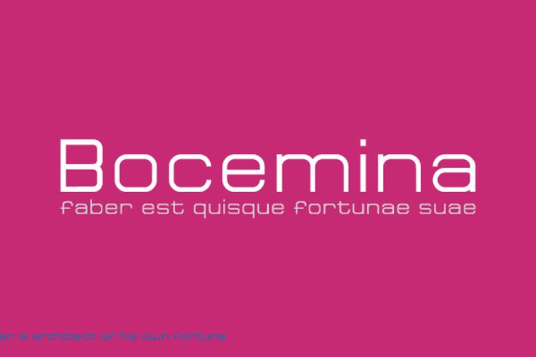 Bocemina Font