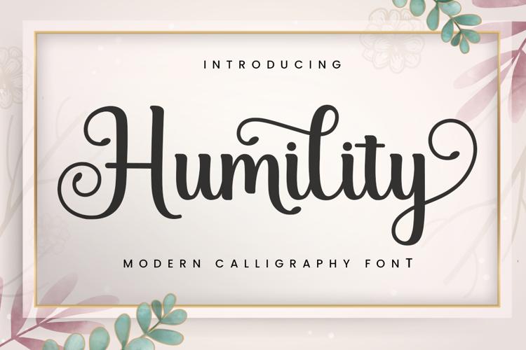 Humility Font