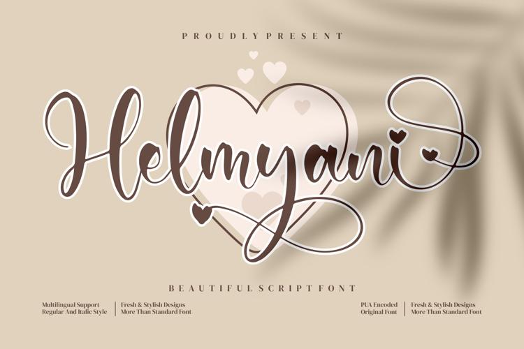 Helmyani Font