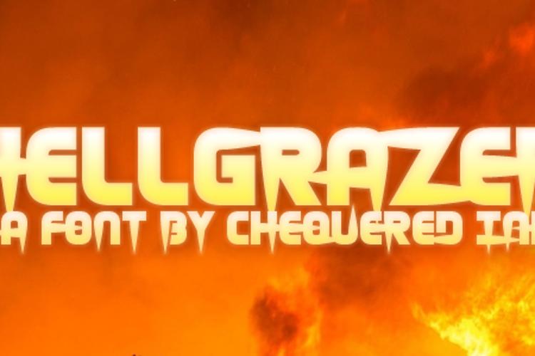 Hellgrazer Font