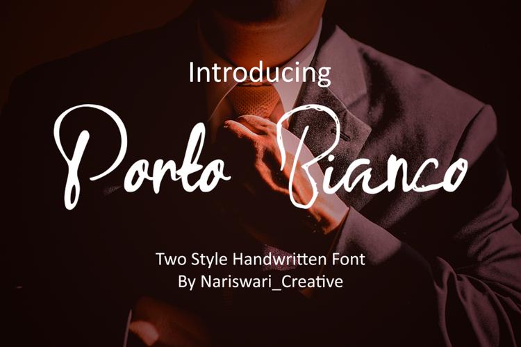 Porto Bianco Font