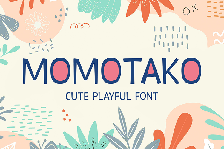 Momotako Font