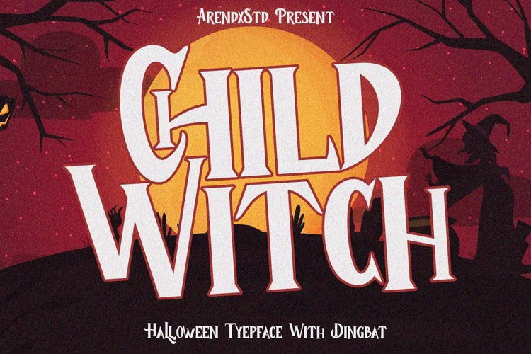 Child Witch Font