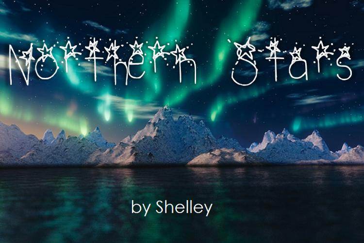 Northern Stars Font