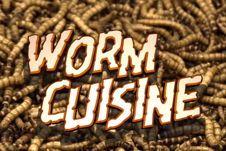 Worm Cuisine Font
