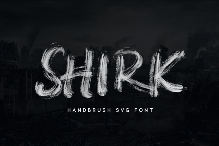 SHIRK Font