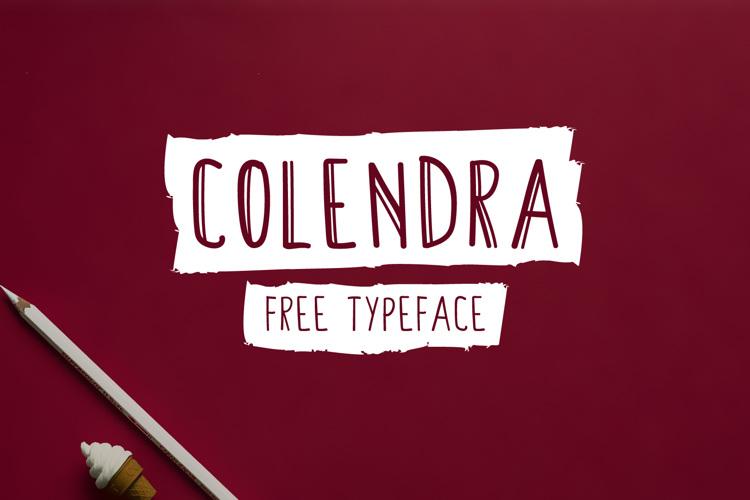 Colendra Font