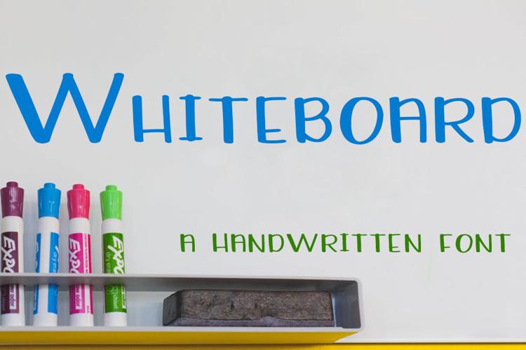 Whiteboard Font