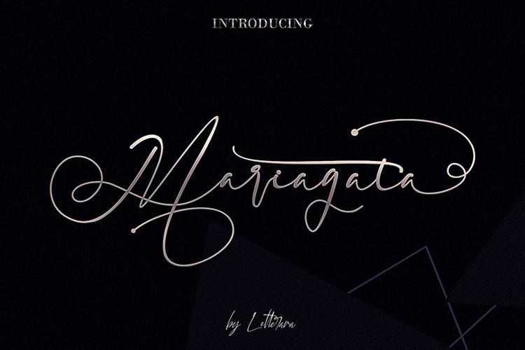 Mariagata Font