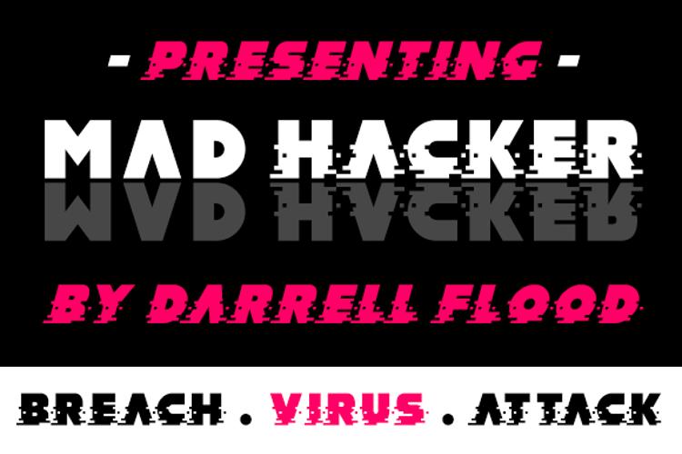 MAD hacker Font