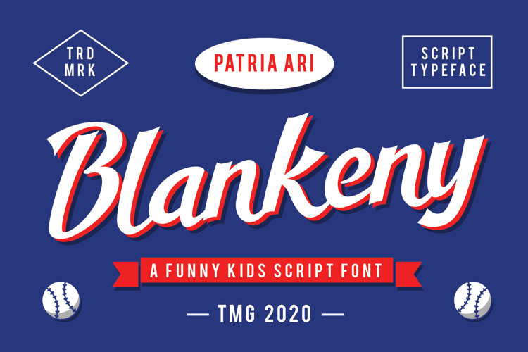 Blankeny Script Font