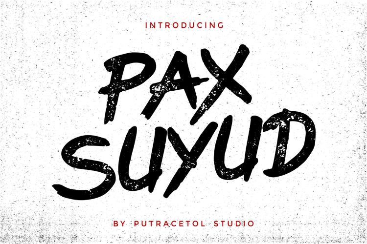 Pax Suyudz Font