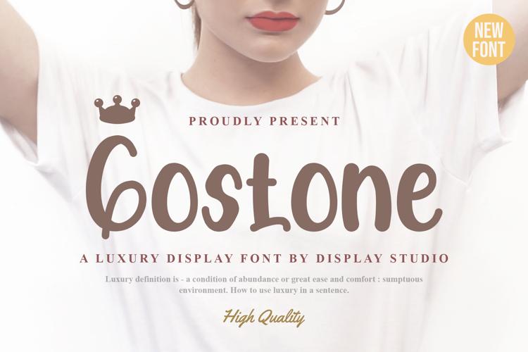 Gostone Font