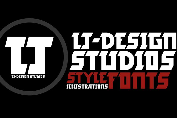 LJ-Design Studios Logo Font