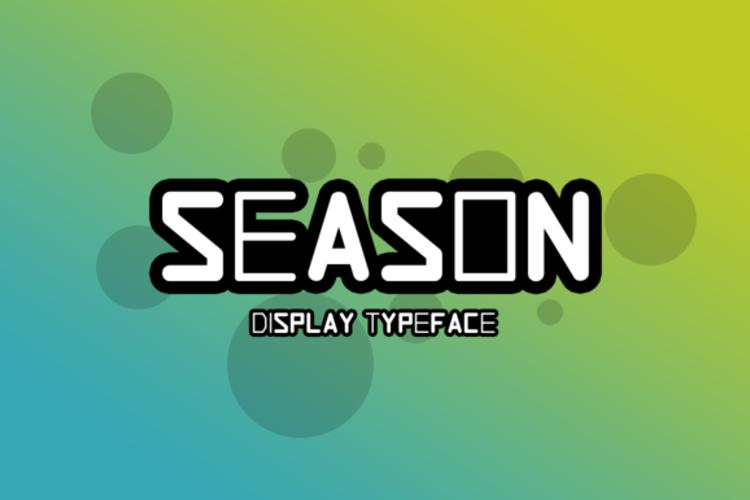 Season Font