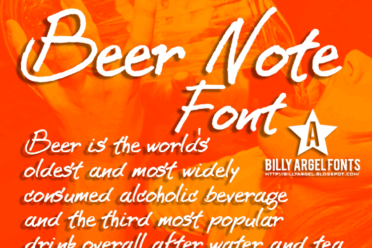 BEER NOTE  Font