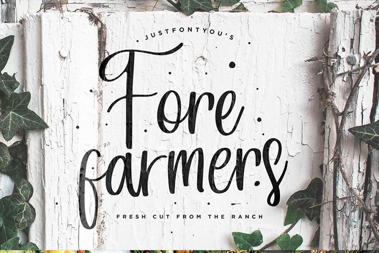 Forefarmers Font
