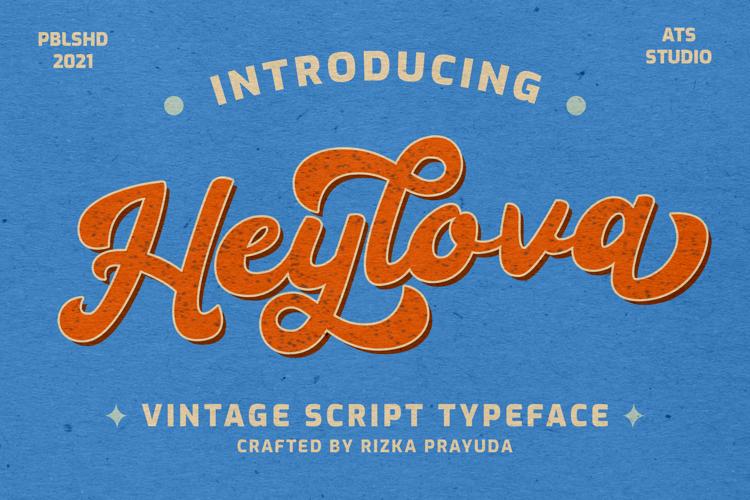 Heylova Script Font
