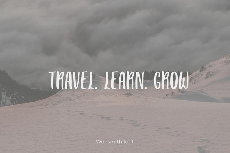 Wonsmith Font