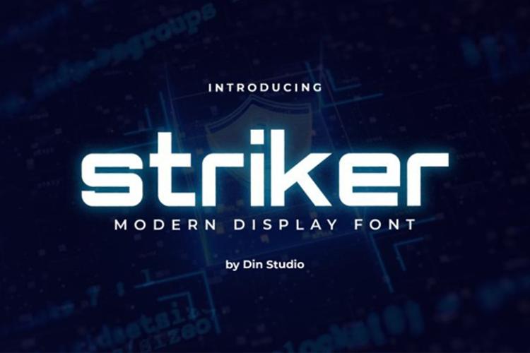 Striker Font