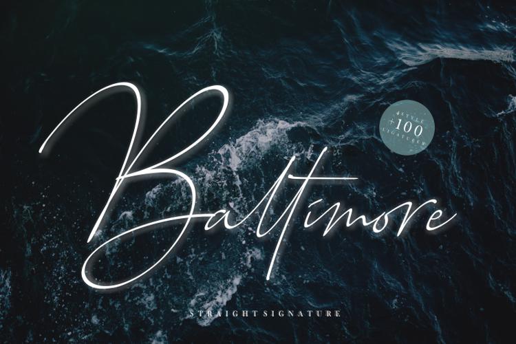 Baltimore Bold Font