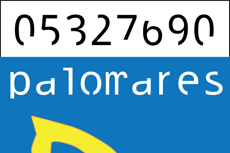 palomares Font