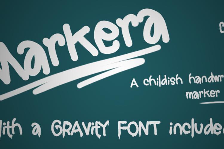 Markera  Font