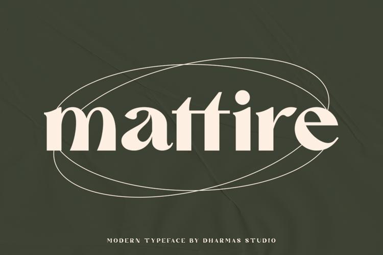 Mattire Font