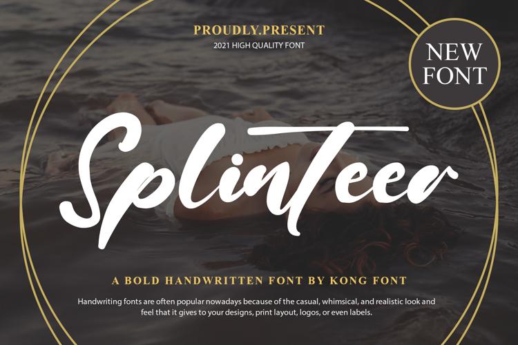 Splinteer Font