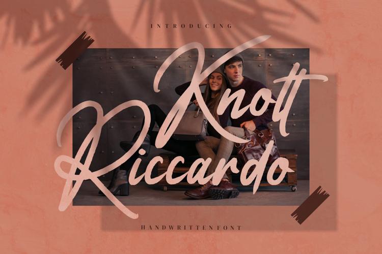 Knott Riccardo Font