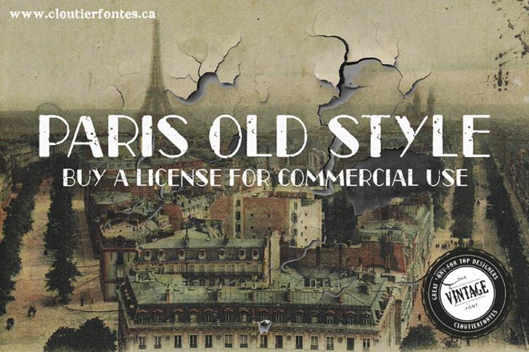 CF Paris Old Style Font