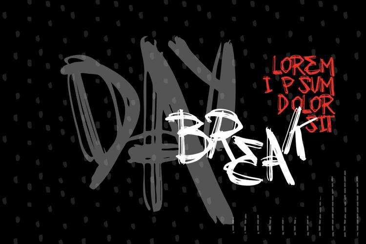 VTKS DAY BREAK Font