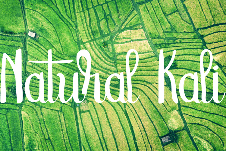 Natural Kali Font